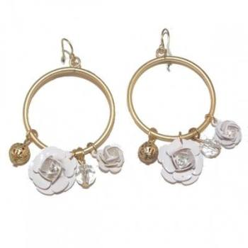 NICOLE: ROSE EARRINGS