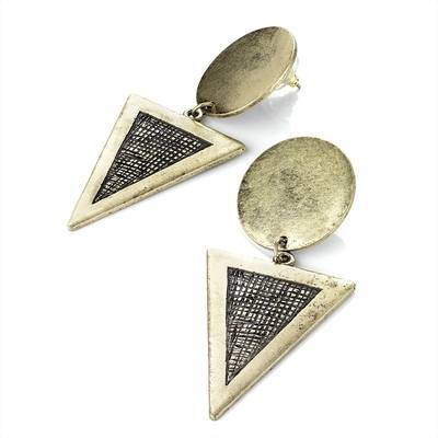Roa: Pyramid Earrings