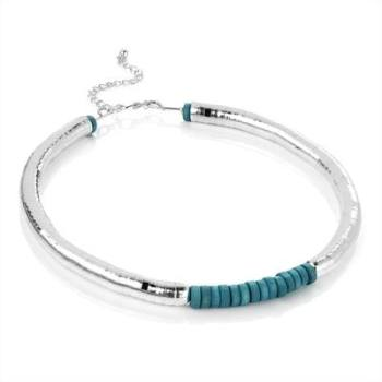 DANII: SILVER SNAKE NECKLACE