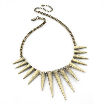 AMIE: TRIBAL SPIKE NECKLACE