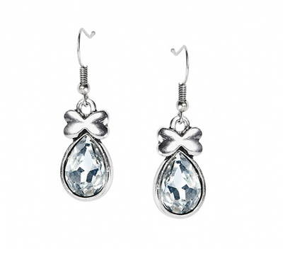 Daliah: Jewel Earrings - Clear