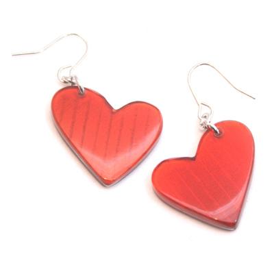 JULIETT: HEART EARRINGS