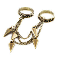LOUIZA: HARNESS RING GOLD