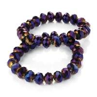 BETI: PURPLE CRYSTAL BRACELET