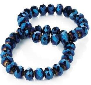 BETI: BLUE CRYSTAL BRACELET