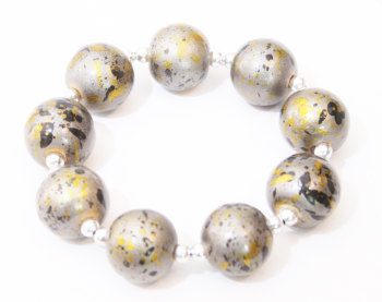 CLARE: SPRAY PAINT BRACELET
