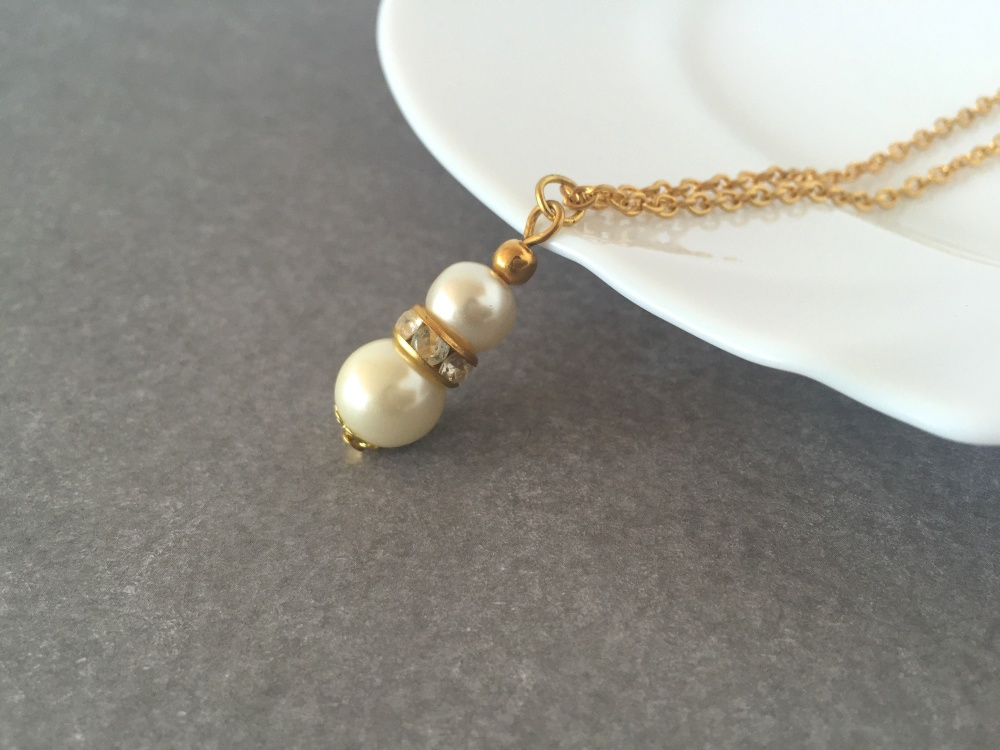Ivory Bridal Necklace