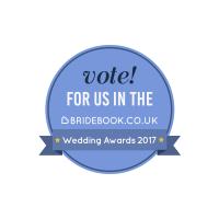Bridebook.co.uk Wedding Awards Website Badge