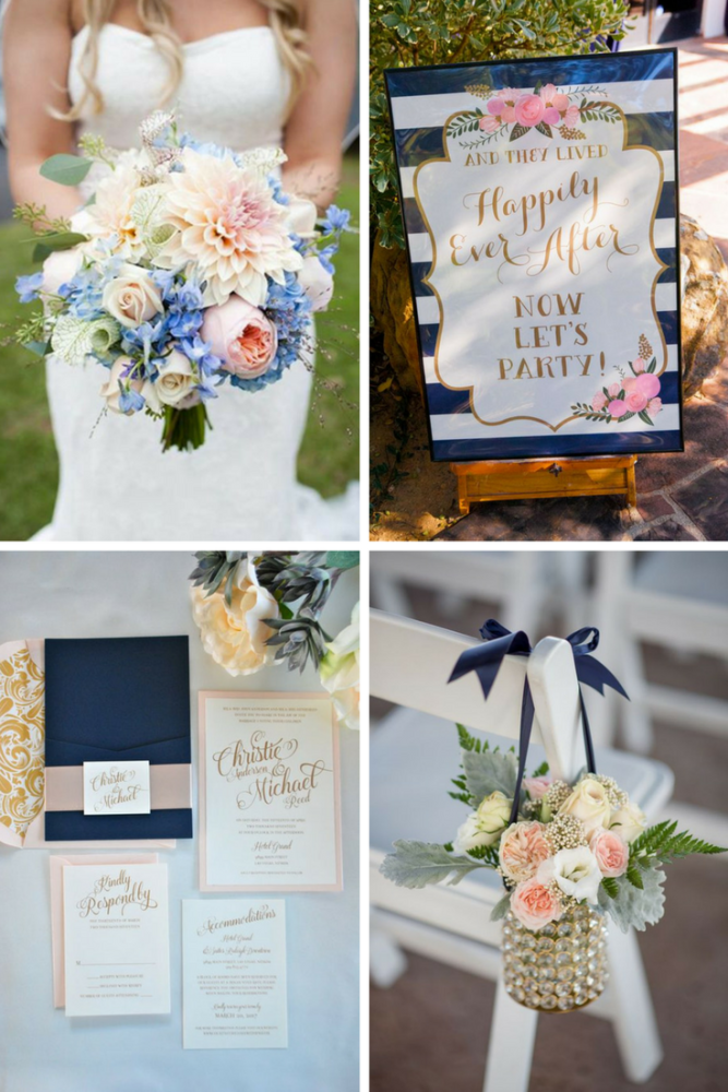 blue and blush graphics