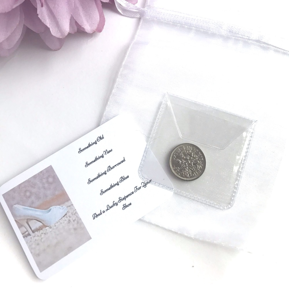 Wedding Sixpence Michelles Handcrafted Jewellery