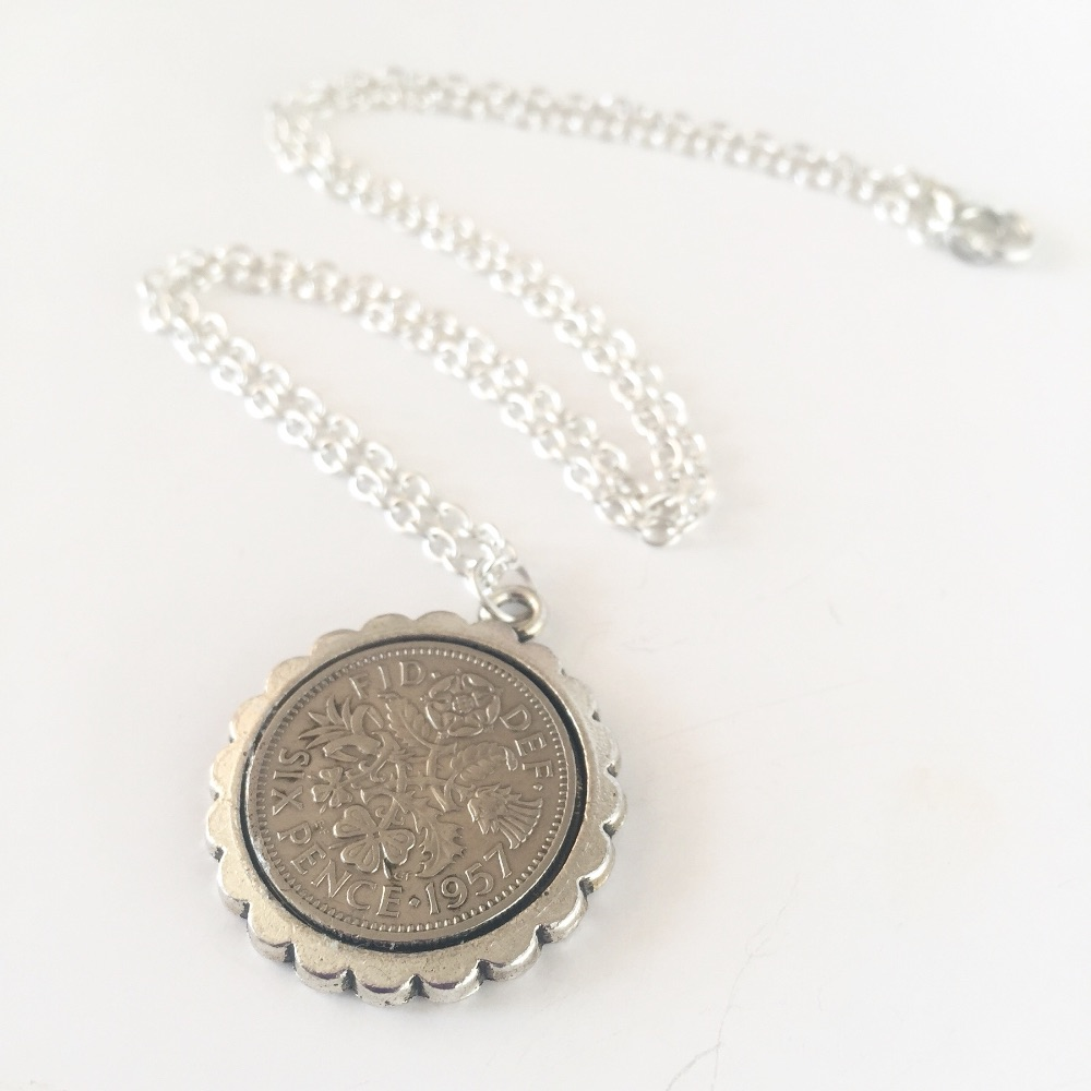 Sixpence Coin Necklaces