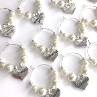 Wedding Wine Charms