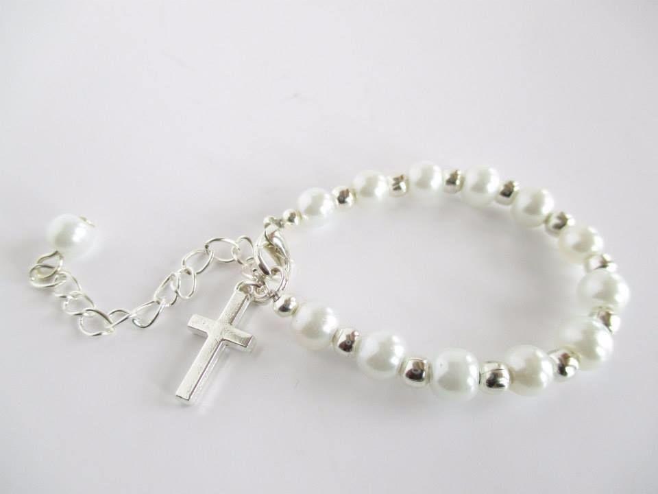 Cross Baby Bracelet