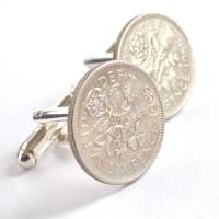1966 Coin Cufflinks