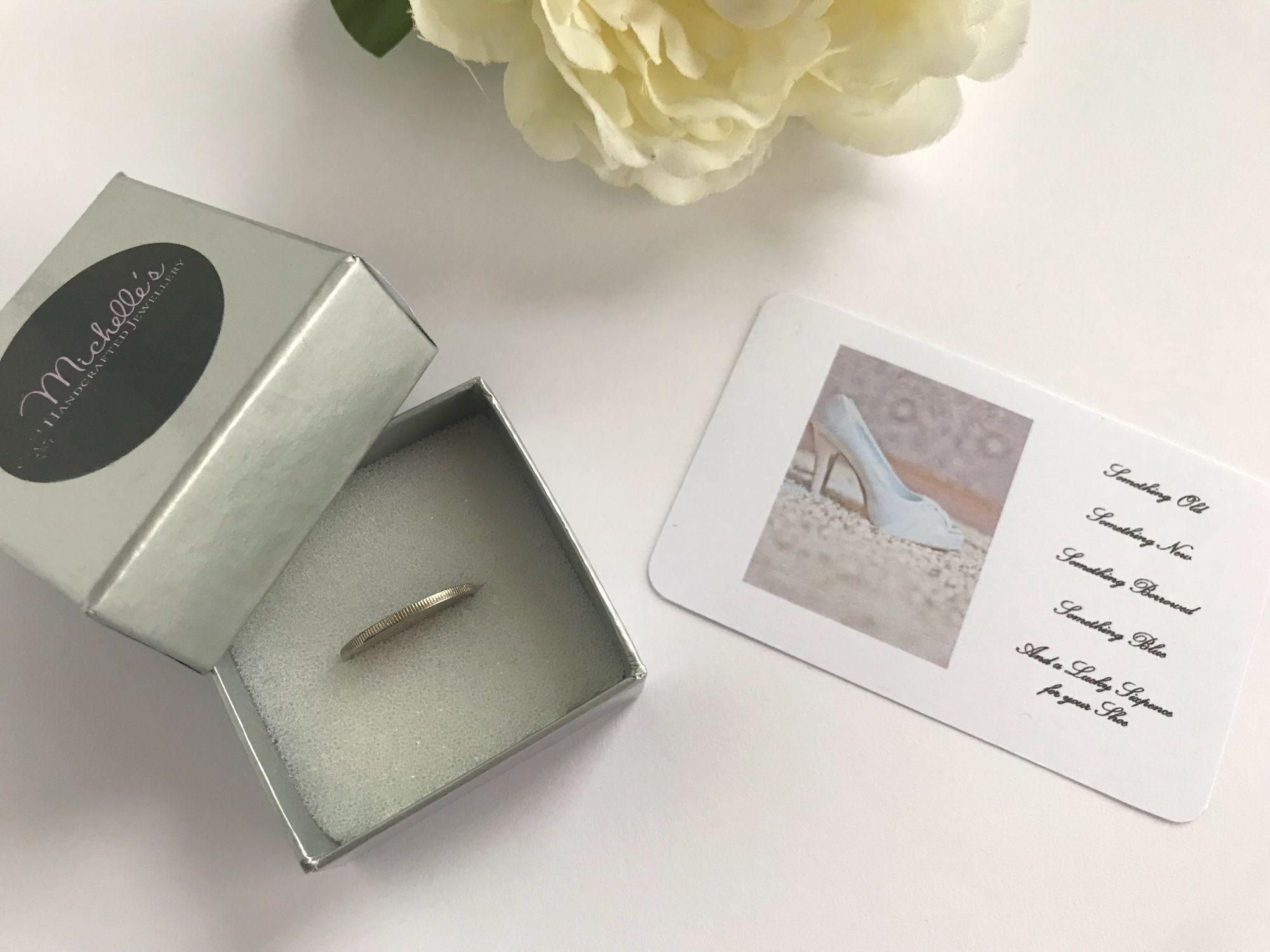 Bridal Sixpence Gift
