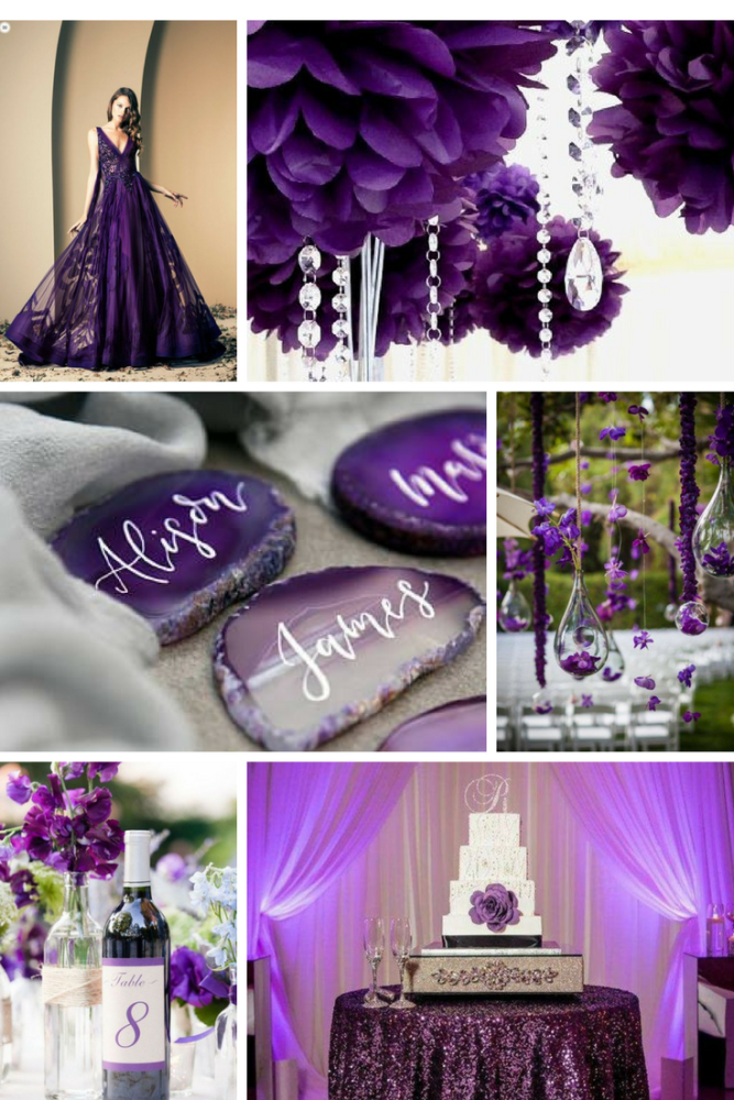 ultra violet photo collage 3