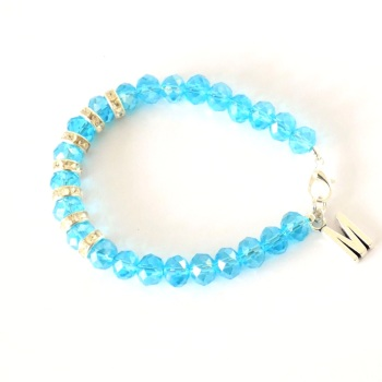 Personalised Crystal Bracelet