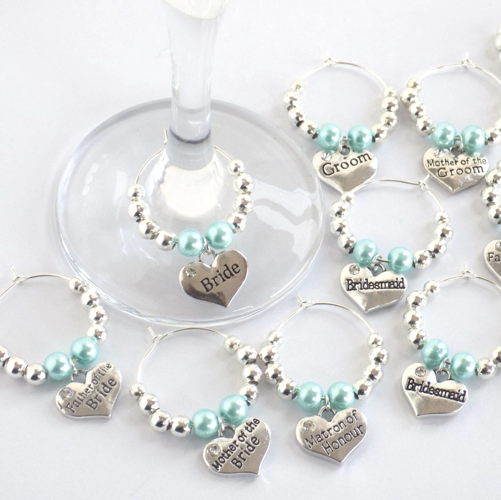 Wine Charms Personalised