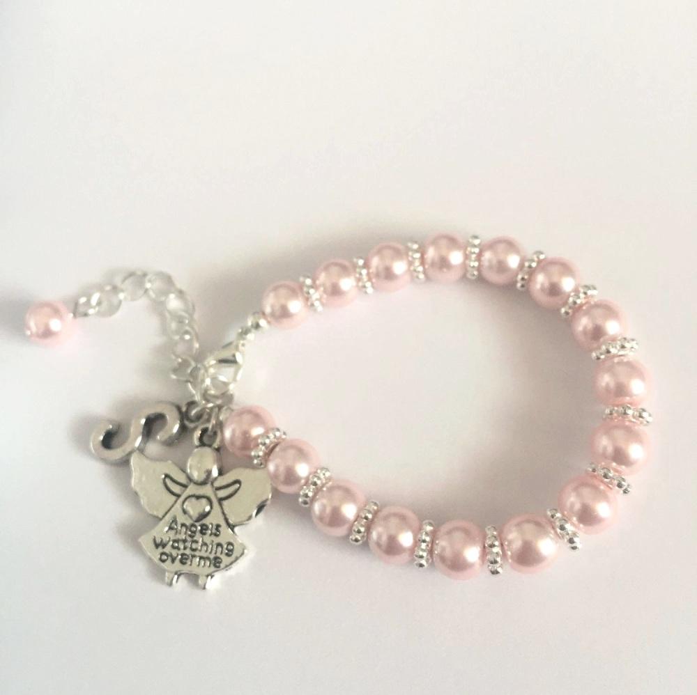 Personalised Angel Bracelet