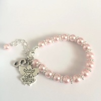 Personalised Angel Bracelet
