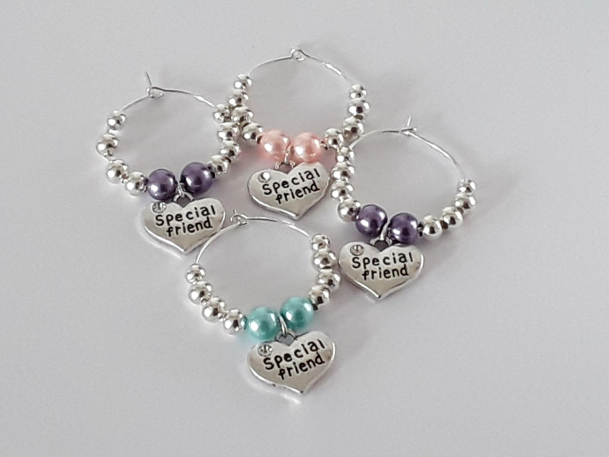 special friends wine charms