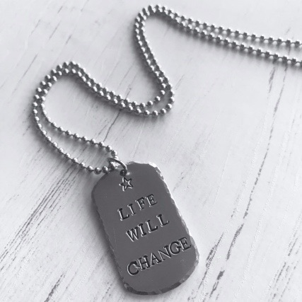 LIFE WILL CHAGE NECKLACE