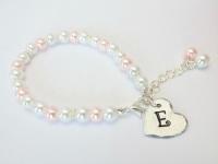 Letter Charm Bracelet