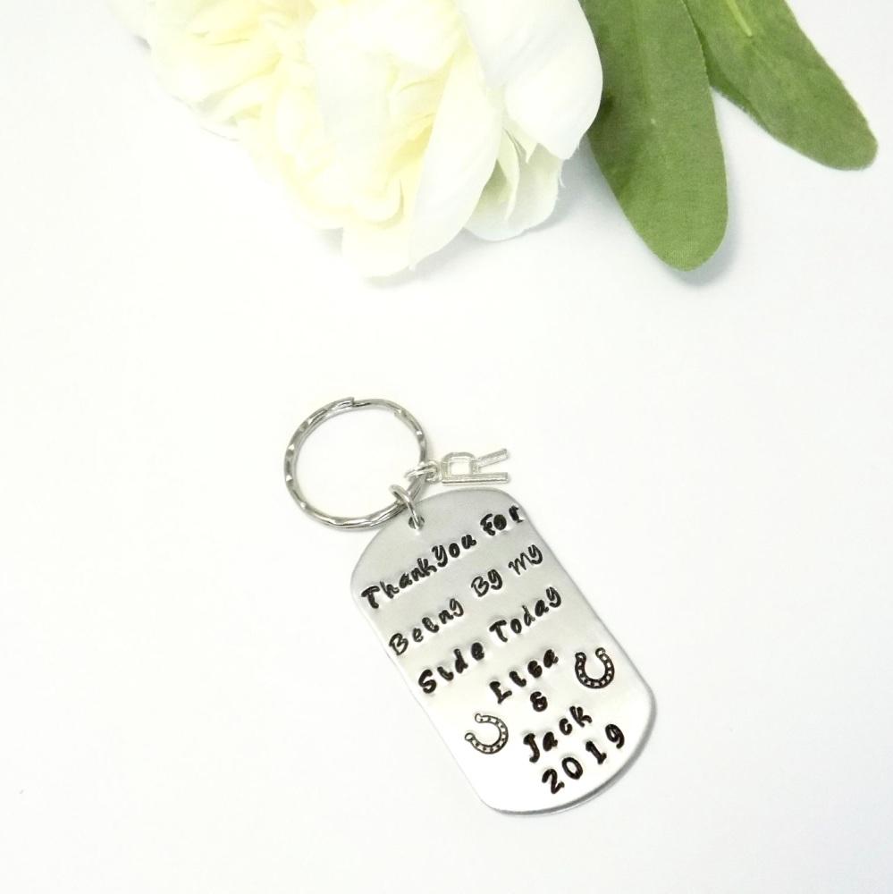 Wedding Favour Keychain