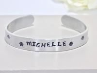 Name Cuff Bracelet