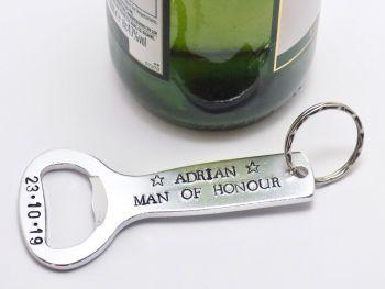 Man of Honour Bottle Opener Gift