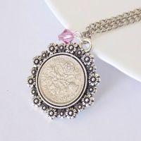 Birthstone Coin Pendant
