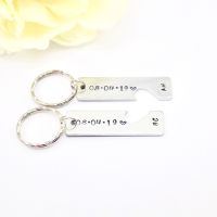 Couples Keychain