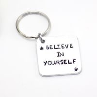 Positive Affirmation Keyring