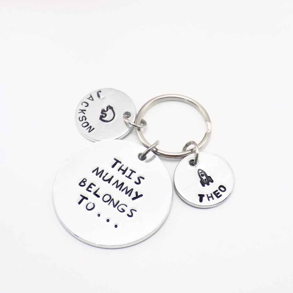 Personalised Keyrings for Her