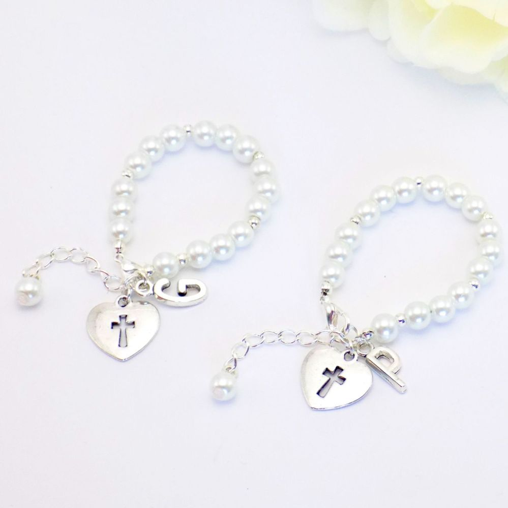 Personalised Bracelets for Twins