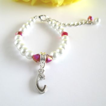 Personalised Bracelet for Flower Girl
