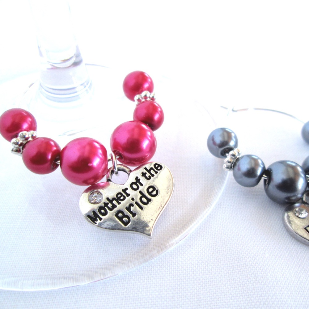 Wine Glass Charm Wedding Favour