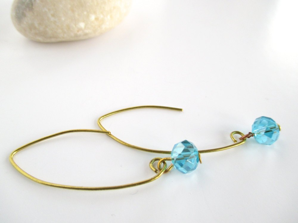 Long Wire Earrings
