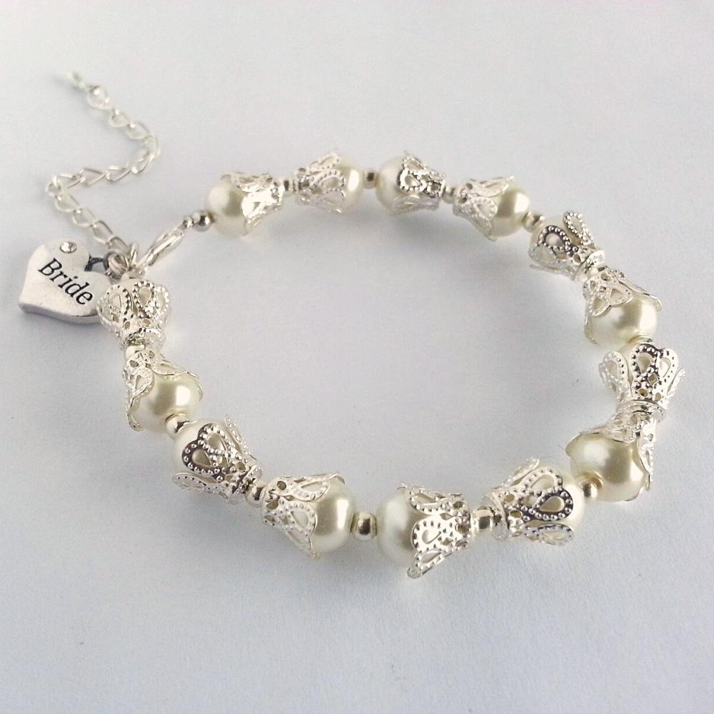 Vintage Style Bridal Bracelet