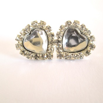 Rhinestone Bridal Stud Earrings