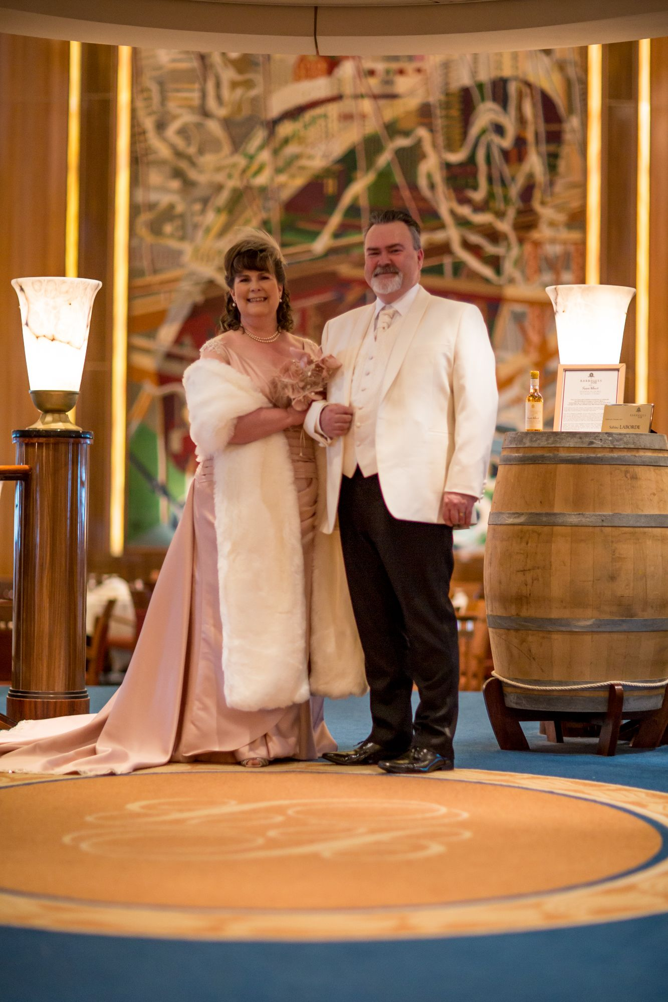 Cruise 1930s wedding dress