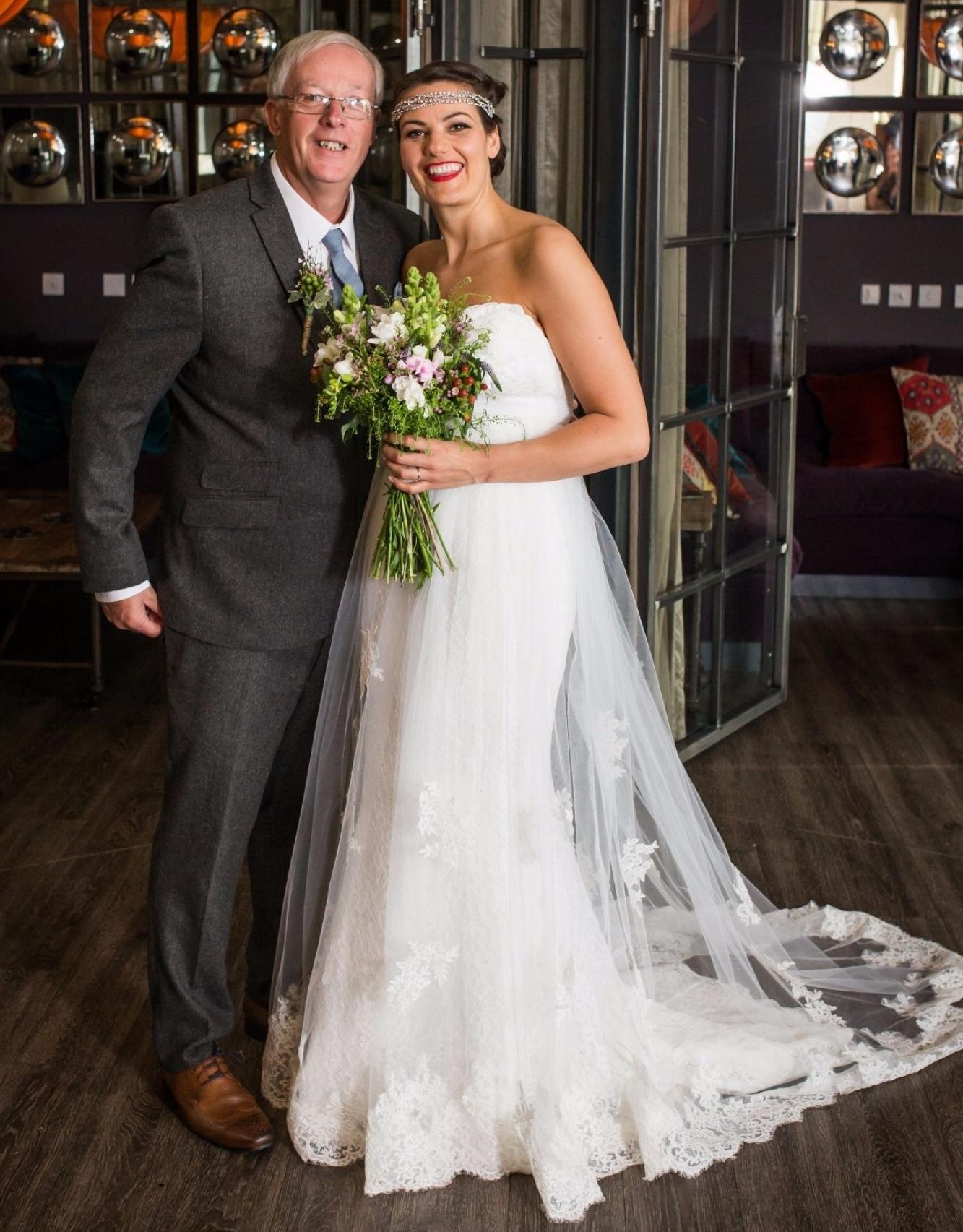 bespoke ivory tulle wedding dress sweetheart neckline