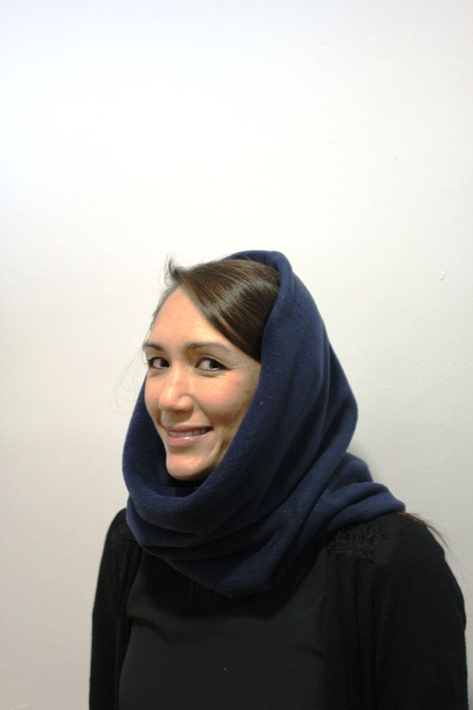 navy snood side
