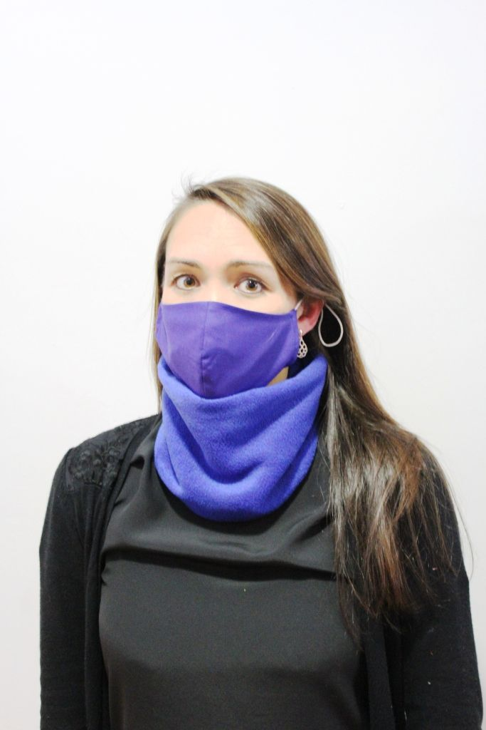 Cobalt Neck Warmer with 2 x masks