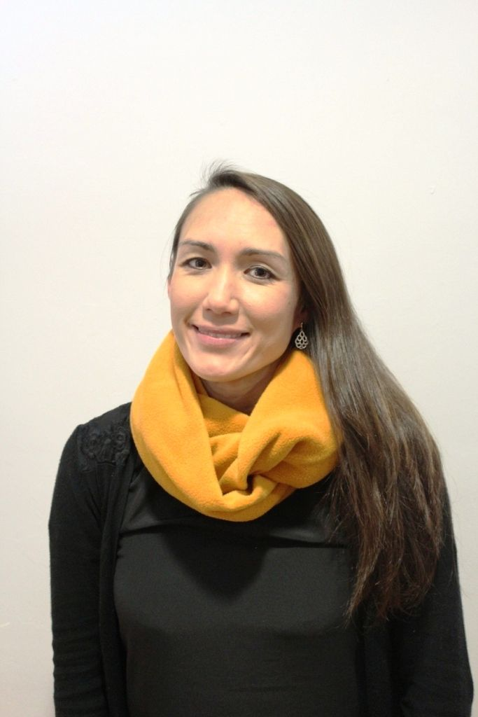 Mustard Infinity Scarf with 2 x masks