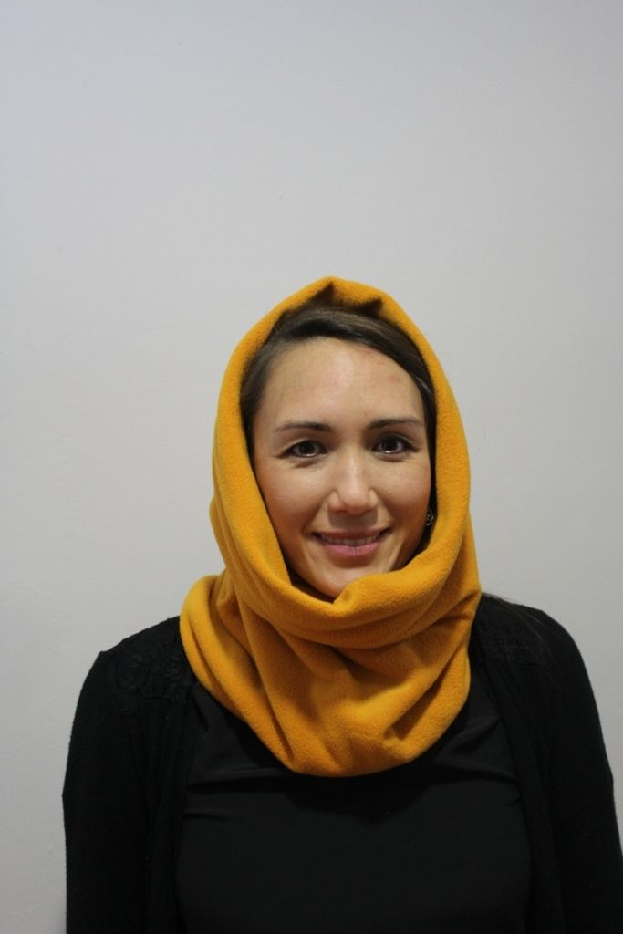 Mustard Snood with 2 x masks