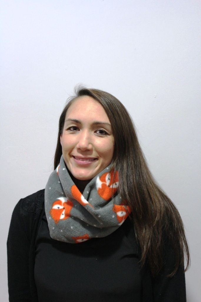 Fox Print Infinity Scarf with 2 x masks