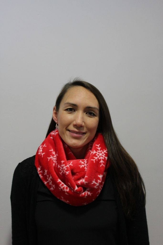 Red Snowflake Infinity Scarf with 2 x masks