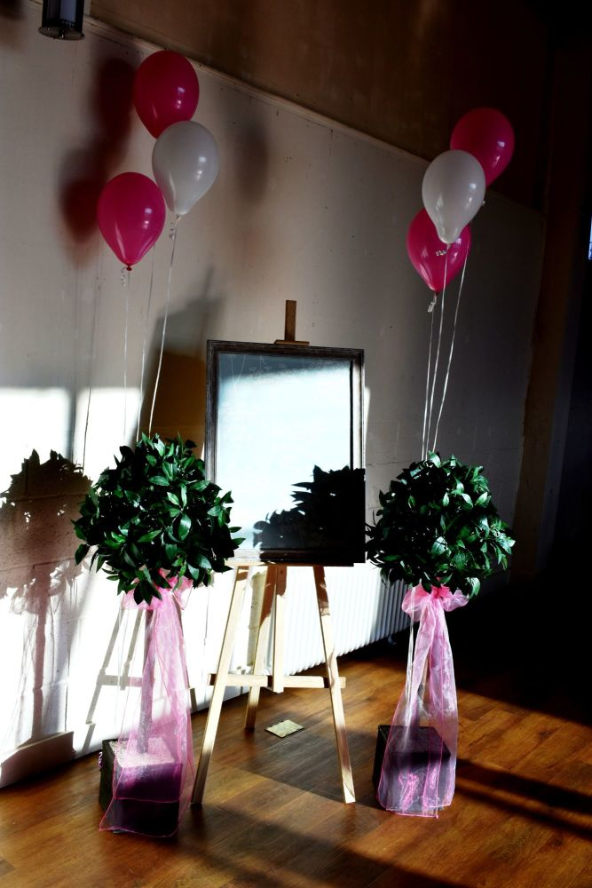 BaY Trees Easel and Balloons