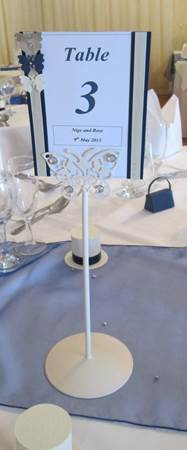 rose table number